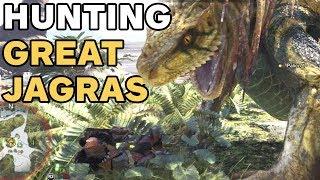 Combattimento contro Great Jagras