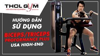 Biceps/Triceps - Hướng Dẫn Sử Dụng Máy Gym Tập To Chuột, Cắt Nét Tay Sau