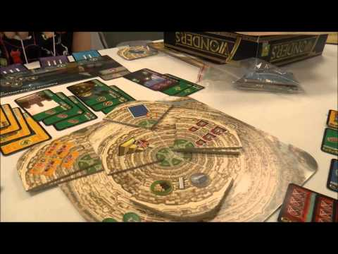 Sasquatch 2014 (Essen Games) - 7 Wonders: Babel Expansion