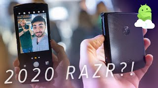 Motorola Razr 2019 hands-on: The hottest flip phone of 2020