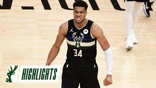 Giannis Antetokounmpo NBA Finals MVP Complete Series Highlights | The Greek Freak Dominates Phoenix