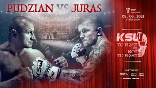 KSW 61: To Fight or Not To Fight LIVE Sat., June 5 at 3 p.m. ET on Fight Network