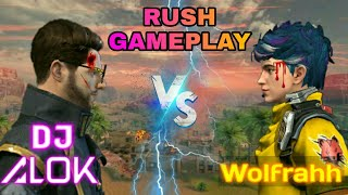 Wolfram vs alok   wolfram vs dj alok   free fire wolfrahh vs dj alok gameplay by vktech gamer