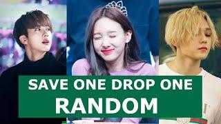 Random Save One Drop One | Kpop Game