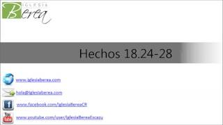 preview picture of video 'De Provecho (Hechos 18:24-28)'