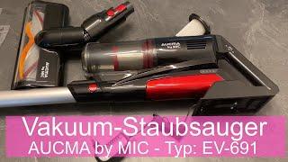 Vakuum-Staubsauger AUCMA by MIC - Typ EV-691