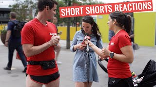 People React To 2 SHORT Running Shorts