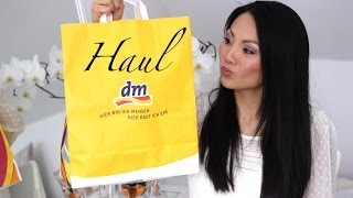 dm Haul - Kosmetik + Pflege: Maybelline Jade, Garnier, Alverde, Nivea etc.