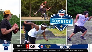 AMP Competes at The NFL Combine