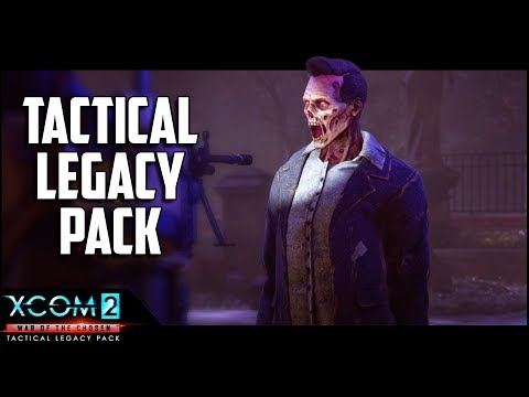 THE GRAVEYARD Legacy Op - XCOM 2 Tactical Legacy Pack - Mission 2 of 7 - Gameplay Lets Play
