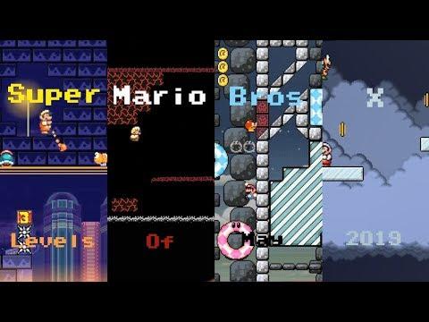 Super Mario Bros X (SMBX 1 4 4)Custom Level: SMW Cave
