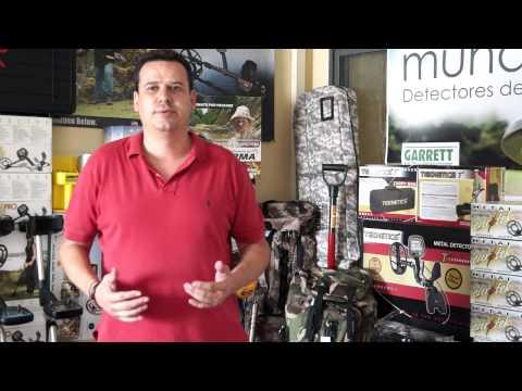 Detector de metales Teknetics T2 en español