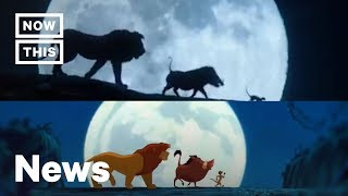 How 'The Lion King' Live-Action Trailers Syncs Up With the Original Animation | NowThis
