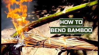 HOW TO BEND BAMBOO