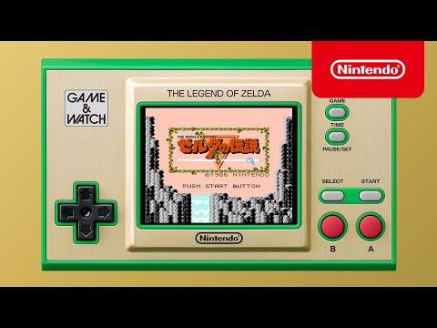 沒有Switch Pro 但有 《薩爾達傳說》懷舊歷代作登陸Game & Watch主機  [Nintendo Direct | E3 2021]