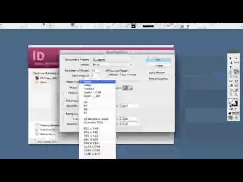 Adobe Indesign Tutorial: Creating Your First Document