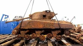 На дне Дона нашли танк Генерал Стюарт