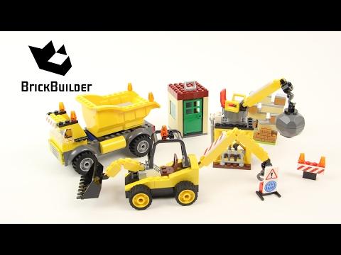 Vidéo LEGO Juniors 10734 : Le chantier de démolition