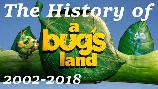 The History of a bug's land | Disney's California Adventure