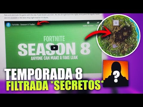 FORTNITE FILTRA POR ERROR LA TEMPORADA 8 ? *EVENTO FINAL* TERREMOTO TEORÍAS | FORTNITE BATTLE ROYALE