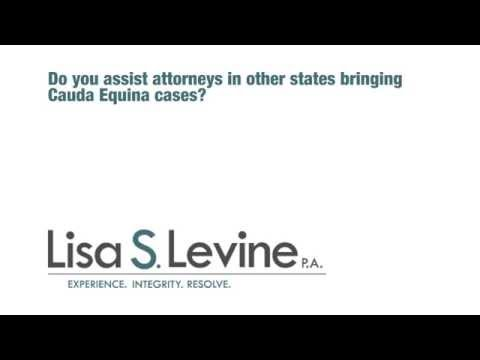 Do you assist attorneys in other states bringing Cauda Equina cases?