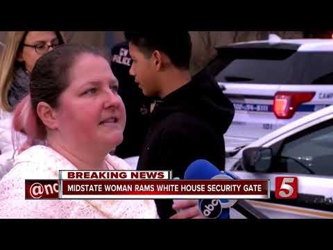 Tenn. Woman Rams White House Security Gate