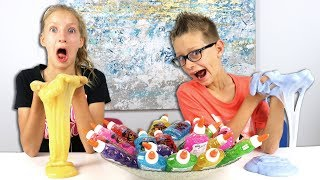 3 Colors of Glue Slime Challenge!!! PART 2!!! We are mixing 3 colors of glue to make slime! It may turn out to be a nice slime or a bad one!!! Comment down below who is the winner of each round!!!! Karina or Ronald?  Our new instagram!!!!! @omgs4life The old one got deleted so follow us on this one!!!!  OUR NEW MERCH: https://www.sisvsbro.com  Welcome to SIS vs BRO! This is where Karina and Ronald join forces to challenge each other in countless fun videos! Challenges, gaming, and more!!! Be sure to SUBSCRIBE and we will see you in the next video!!!  Facebook: https://www.facebook.com/karinavsronald/