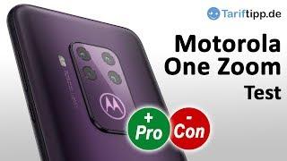 Motorola One Zoom | Test des neuen Handys mit Vierfach-Kamera inkl. 3-fach optischen Zoom