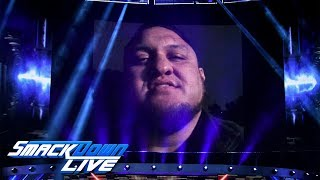 Samoa Joe invades AJ Styles' home: SmackDown LIVE, Sept. 25, 2018