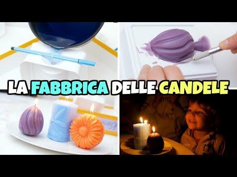 La FABBRICA delle CANDELE: Profumate, Colorate e Facili da fare