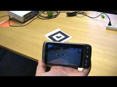 Video of AndAR Model Viewer