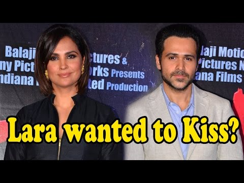 Lara Datta Wanted To Kiss Emraan Hashmi In Azhar?