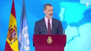 Intervención de S.M. el Rey durante el acto conmemorativo del 75º aniversario de Naciones Unidas