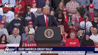 FULL RALLY: President Trump in Manchester, New Hampshire night before primary