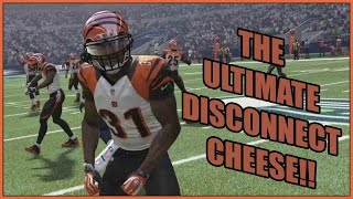 THE ULTIMATE DISCONNECT CHEESE!!! - Madden 16 Ultimate Team | MUT 16 PS4 Gameplay