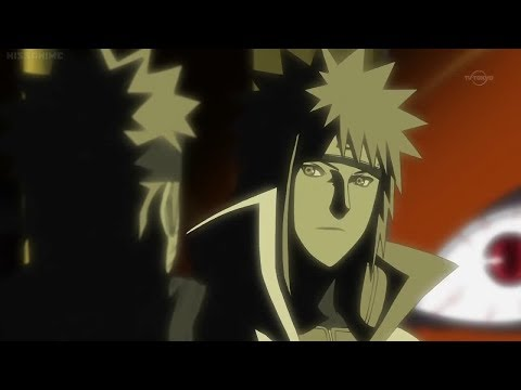 Naruto meets his Dad/Minato for the first time