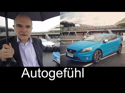 2015 Volvo V40 R-Design REVIEW test drive - Autogefühl