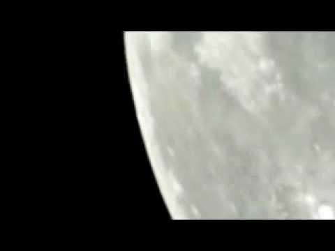 La Luna , desplazamiento natural, camara Nikon lente 1000 mm adaptador 6x