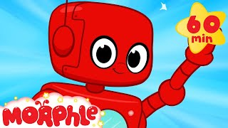 Robot Adventures With Morphle  +1 Hour My Magic Pet Morphle Kids Videos Compilation