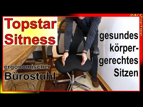 Ergonomisches und rückengerechtes Sitzen - Der Bürostuhl gegen Rückenschmerzen zum Toppreis