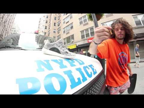 JENKEM - Skateboarding the Kanye Yeezy 350