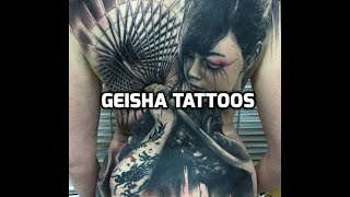 Geisha Tattoos - Best Geisha Tattoo Designs Ideas
