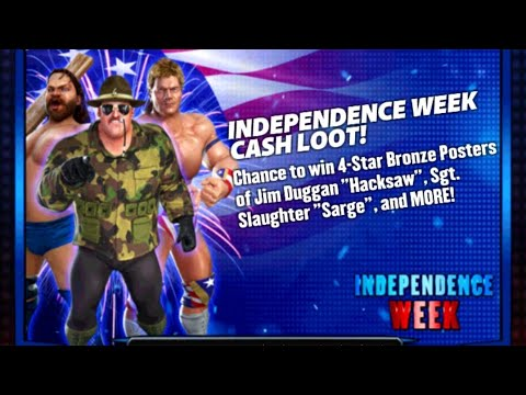 WWE CHAMPIONS: INDEPENDENCE WEEK CASH LOOT