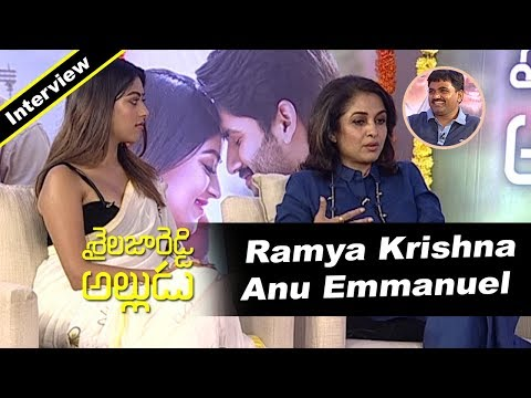 Ramya Krishna and Anu Emmanuel Interview With Director Maruthi