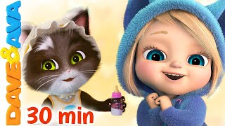 🐱 Ten Little Kittens and More Nursery Rhymes & Kids Songs   Dave and Ava 🐱