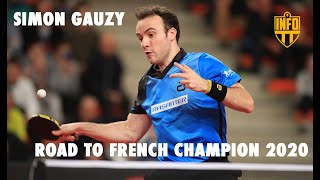 SIMON GAUZY | ROAD TO FRENCH CHAMPION 2020