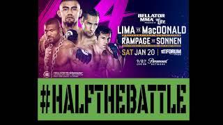 Bellator 192: Lima vs MacDonald & Rampage vs Sonnen Bets, Picks, Predictions on Half The Battle