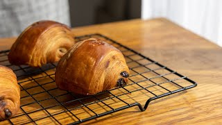 [Howto] Try to make Cédric Grolet style chocolate croissant (pain au chocolat) at home
