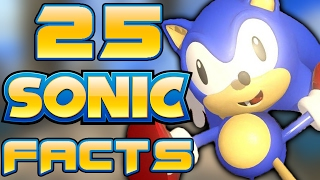 25 WAY COOL Sonic Facts