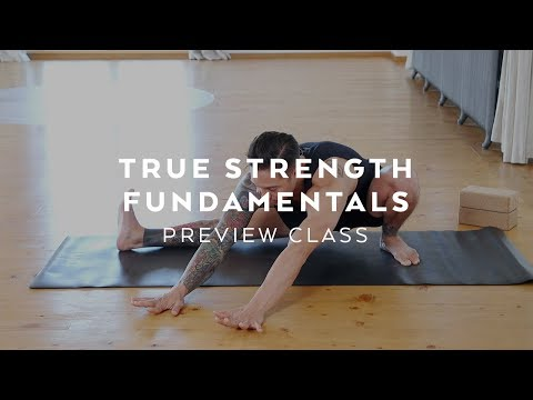 yoga for beginners strength class dylan werner